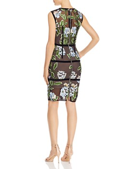 BRONX AND BANCO - Bridget Floral-Embroidered Dress