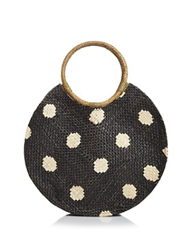 AQUA - Bello Medium Polka Dot Tote - 100% Exclusive