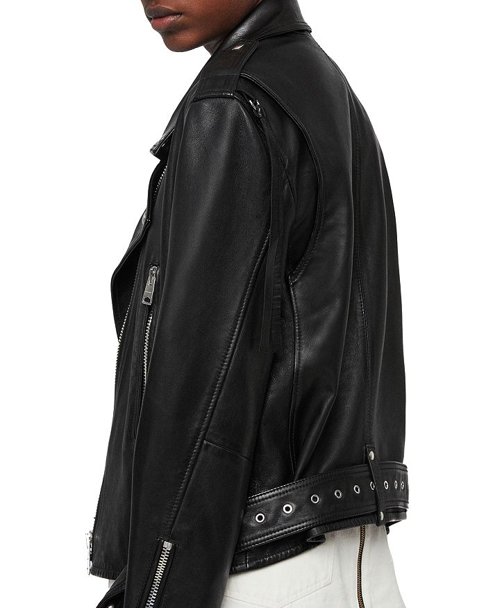 62ca82722 Annina Leather Biker Jacket
