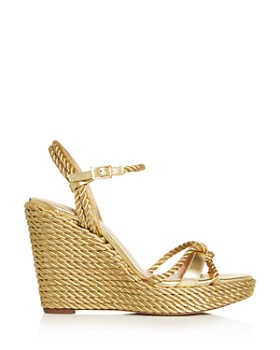 Kurt Geiger - Women's Neile Espadrille Platform Wedge Sandals