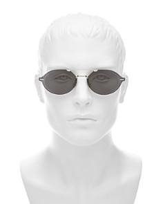 Dior - Men's Chroma 3 Brow Bar Rimless Round Sunglasses, 55mm