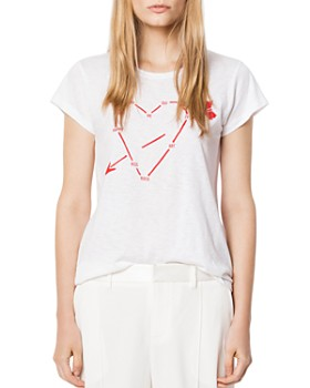 Zadig & Voltaire - Heart Constellation Tee