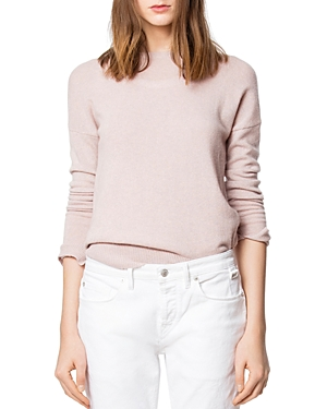 Zadig & Voltaire Sweaters CICI PATCHED CASHMERE SWEATER