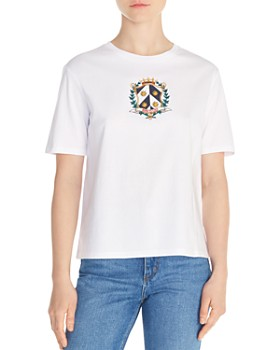 630530a0f50 Sandro - Elliot Born to Love Crest Graphic Tee ...