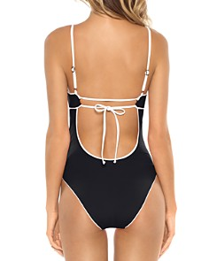 BECCA® by Rebecca Virtue - On The Edge One Piece Swimsuit