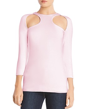 Bailey 44 - Ganache Cutout Jersey Top