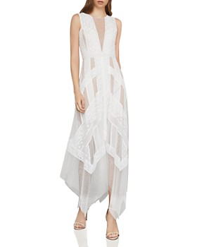 c3fa3c7adf1b9 BCBGMAXAZRIA - Lace Illusion Dress ...