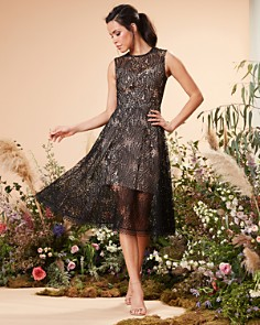 Dress the Population - Shane Lace Dress