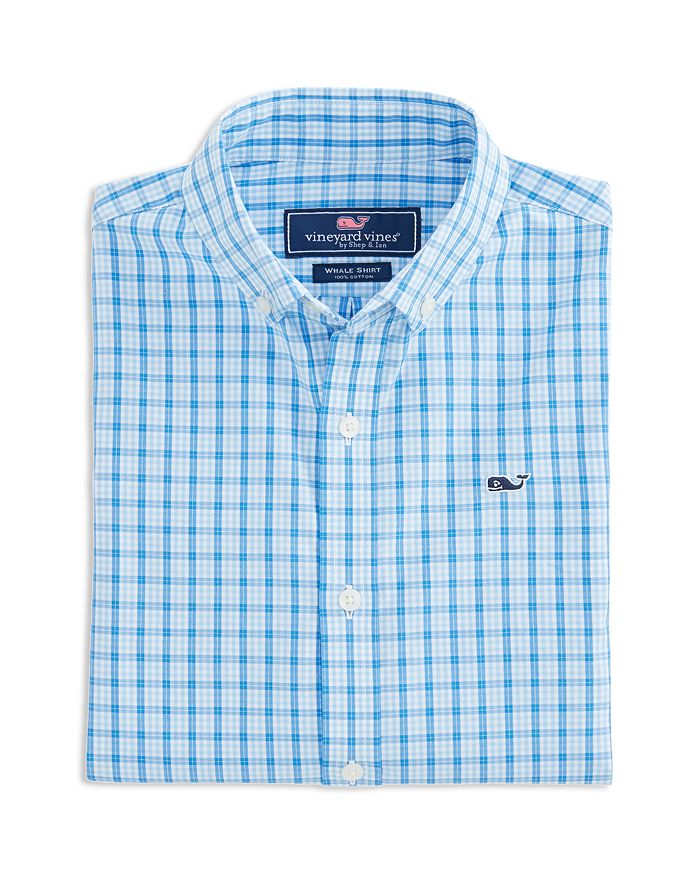 Vineyard Vines - Boys' Checked Dress Shirt - Little Kid, Big Kid
