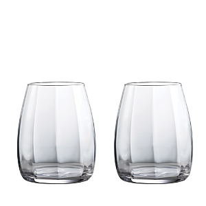 Waterford Elegance Optic Double Old-Fashioned Glasses, Set of 2
