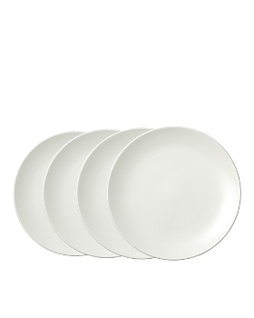 "Wedgwood - Perfect White Salad Plate 8"", Set of 4"