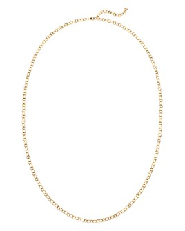 Temple St. Clair - 18K Yellow Gold Ribbon Chain Necklace, 32""