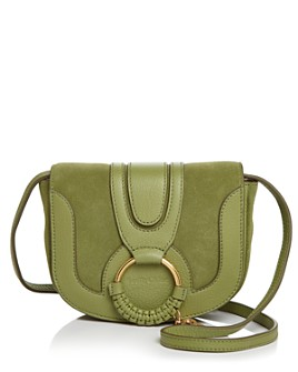 See by Chloé - Hana Mini Suede & Leather Crossbody