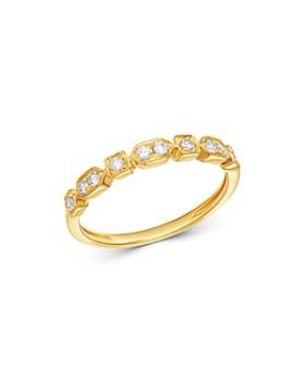 Madhuri Parson - 14K Yellow Gold Diamond Essentials Ring
