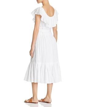 Tory Burch - Striped Seersucker Dress