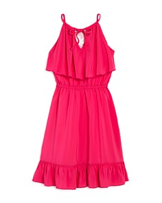 Laundry by Shelli Segal - Girls' Ruffled Modified-Halter Dress - Big Kid