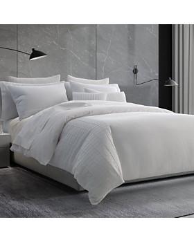 Vera Wang - Linear Tucks Bedding Collection