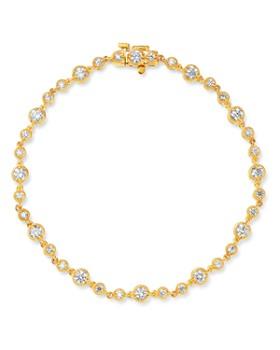 Bloomingdale's - Bezel-Set Diamond Milgrain Bracelet in 14K Yellow Gold, 2.05 ct. t.w. - 100% Exclusive