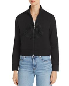 Moncler - Maglia Logo Zip-Front Jacket
