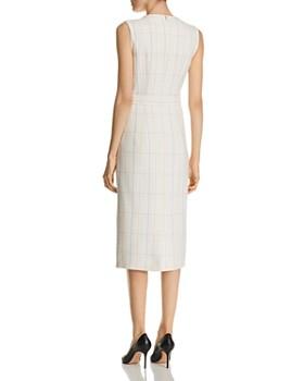 BOSS - Dalyris Sleeveless Plaid Dress