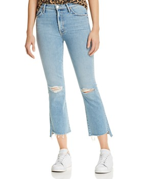 MOTHER - The Insider Cropped Jeans