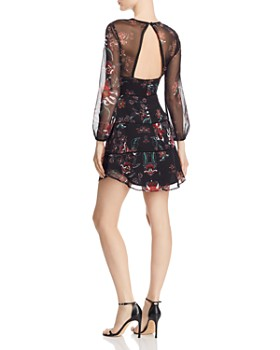 SAU LEE - Nola Floral Mini Dress