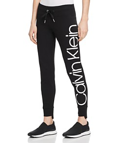 Calvin Klein - Step-Hem Logo Sweatpants