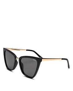 Quay - Women's QUAY x JLO Reina Cat Eye Sunglasses, 51mm