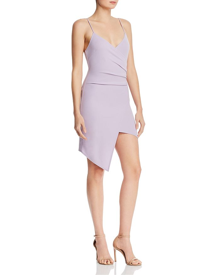 Sunset & Spring - Ruched Faux-Wrap Dress - 100% Exclusive