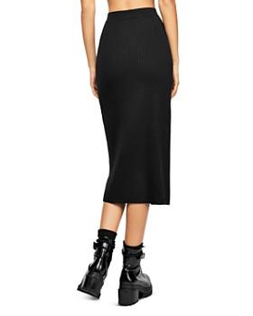 02585844eb ... Free People - Skyline Ribbed Midi Skirt