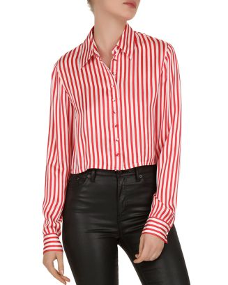 Voile Rouge Striped Shirt by The Kooples
