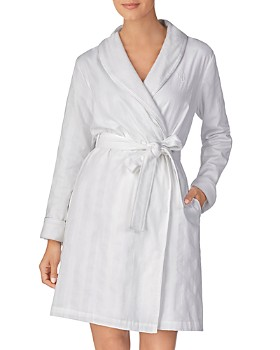Ralph Lauren - Shawl Collar Cotton Terry Short Robe