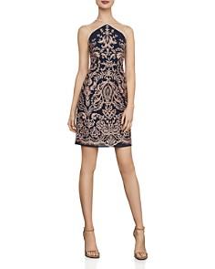 BCBGMAXAZRIA - Baroque Embroidered Sheath Dress