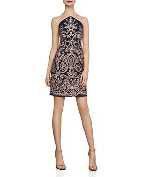 7a6052302bb6 BCBGMAXAZRIA - Baroque Embroidered Sheath Dress ...