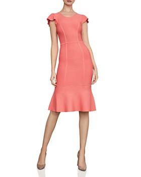 275fb78623e0 BCBGMAXAZRIA - Fluted Body-Con Dress ...