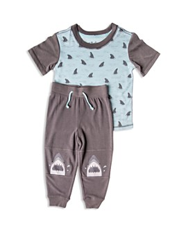 PJ Salvage - Boys' Shark Tee & Joggers Pajama Set - Little Kid