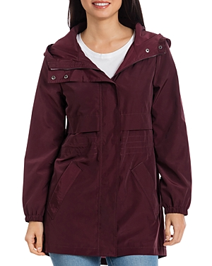 Bagatelle Sport Packable High/Low Rain Anorak