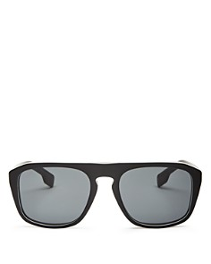 Burberry - Men's Check Square Sunglasses, 54mm