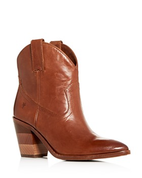 c843050c653 Frye - Women s Faye Chevron Western High-Heel Booties ...