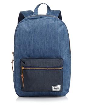 e792195adb4 Herschel Supply Co. - Settlement Mid Volume Denim Backpack ...
