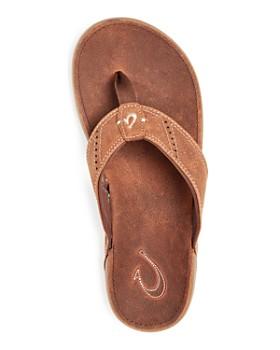 8aaf7e214d9 ... Olukai - Men s Nui Leather Flip-Flops