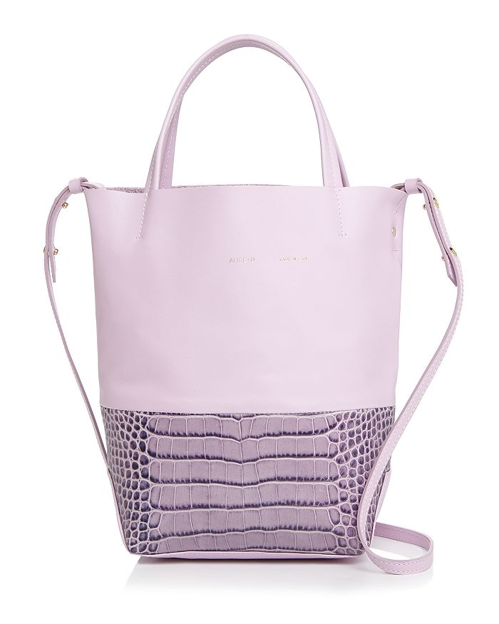 Alice.D - Small Embossed Leather Tote