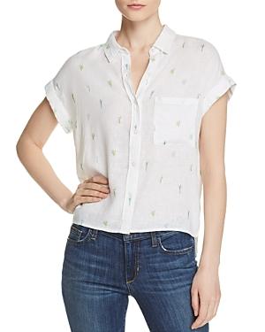 Rails T-shirts WHITNEY CACTUS PRINT SHIRT