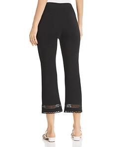 Lyssé - Raya Lace-Trim Cropped Pants