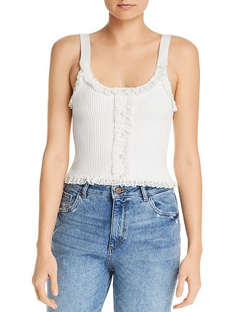 For Love & Lemons - Britney Lace Top