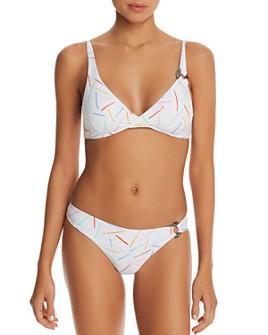 Onia - Claire Confetti Bikini Top & Hailey Confetti Bikini Bottom