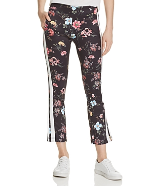 Pam & Gela Pants FINELINE FLORAL TRACK PANTS