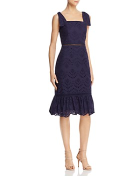 Sam Edelman - Eyelet Lace Dress