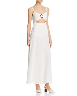 Fame and Partners - Cutout Front Maxi Dress