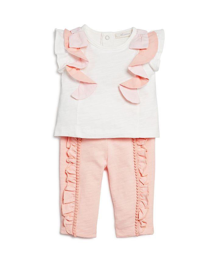 Miniclasix - Girls' Ruffled Top & Pants Set - Baby